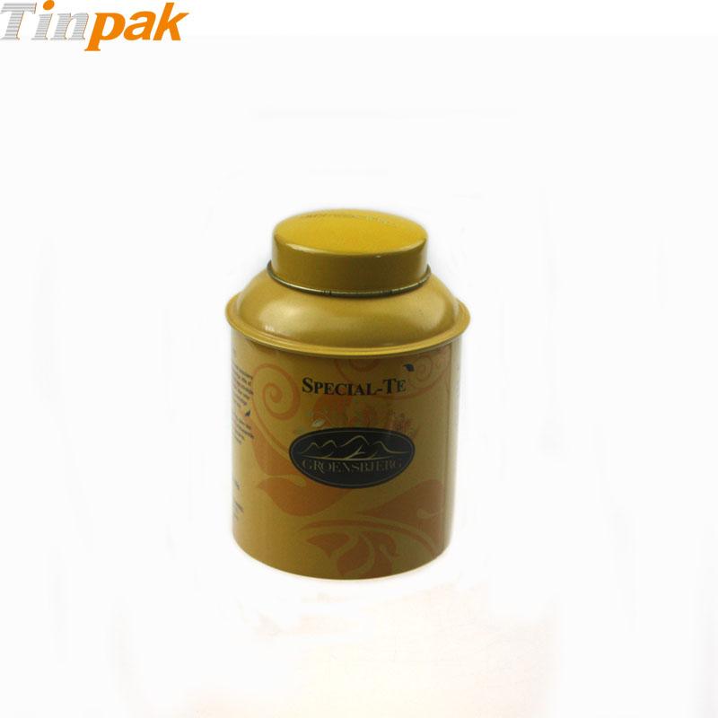 Wholesale Premium Large Domed Lid Tea Tin
