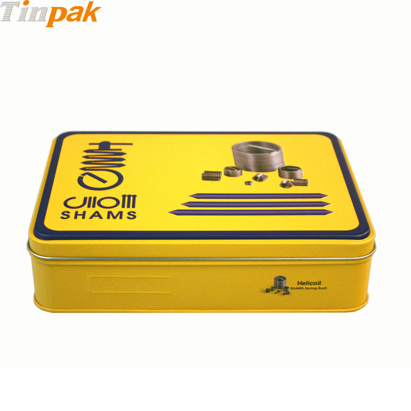 2017 custom design screws tin boxes for sale