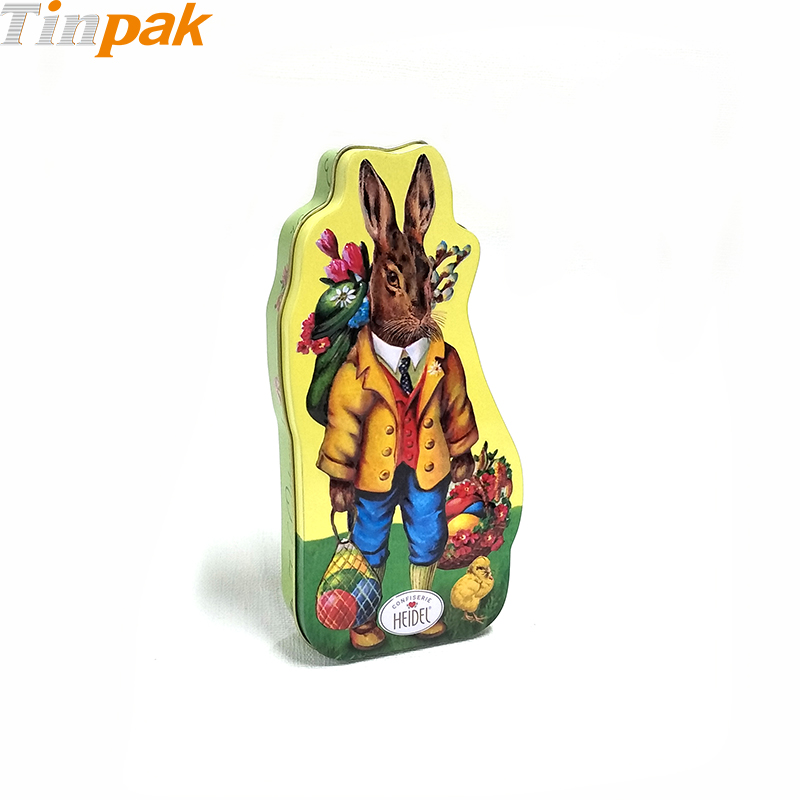 Antique Easter Tin Packing Cans for Chocolates