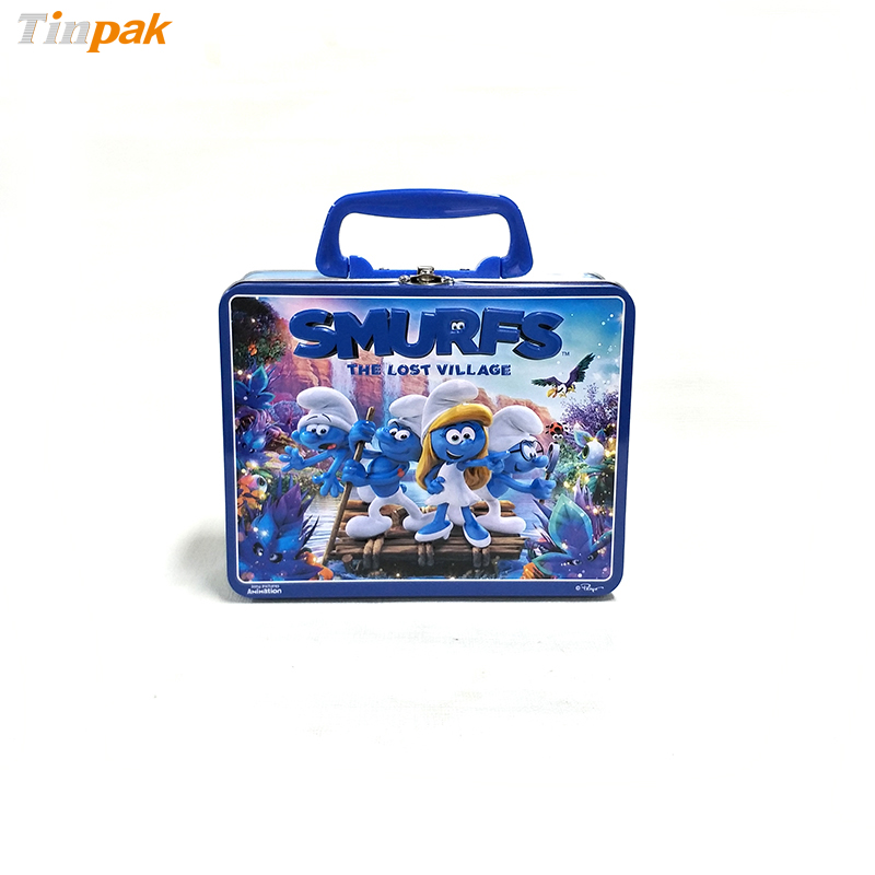 Custom Stainless Steel Lunch Tin Boxes Food Containers for Kids
