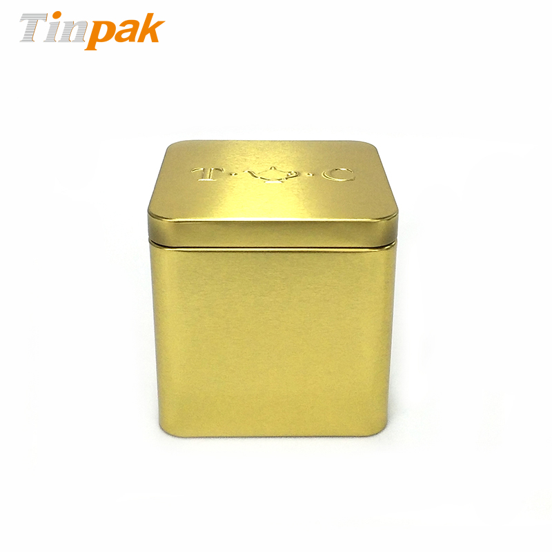 Food Grade Square Tea Tins Wholesaler
